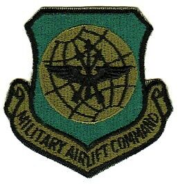 MILITARY AIRLIFT COMMAND - U.S. AIR FORCE SUBDUED PATCH