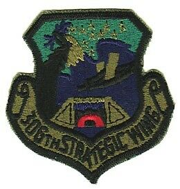306th STRATEGIC WING - U.S. AIR FORCE SUBDUED PATCH