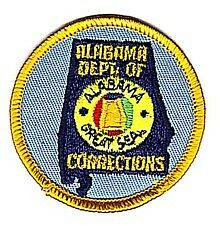 Small Sized - Alabama Department Of Corrections Patch
