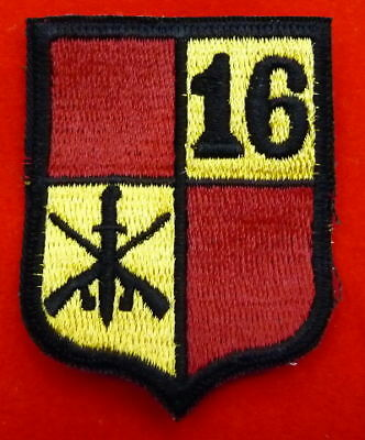 VINTAGE HONDURAS 16th INFANTRY BATTALION SHOULDER PATCH