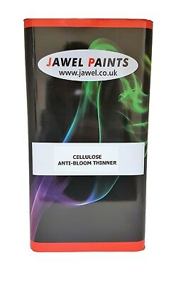 Car Paint THINNERS CELLULOSE ANTI BLOOM 5lt Size
