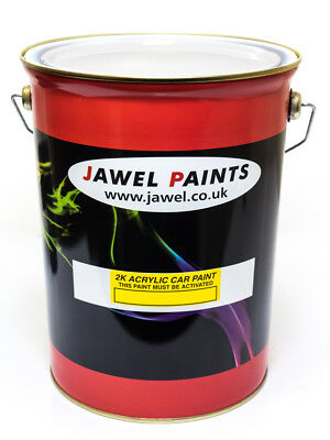Car Paint 2k Acrylic 5Litre Mixed To Your Choice Of Colour