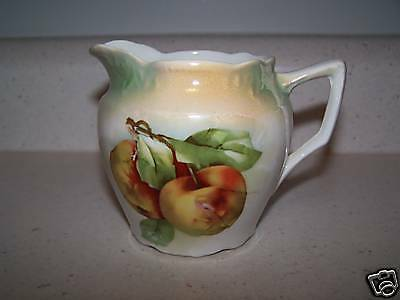 GERMANY LUSTER WARE APPLE FRUIT CREAMER / PITCHER # 154