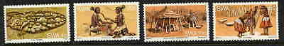 Swa 1977 Traditions Of The Wambo People Mint Stamps!