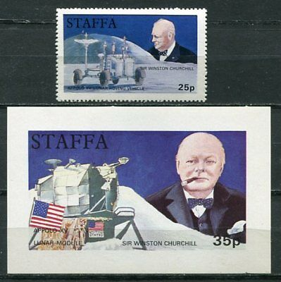 Staffa 1972 Churchill - Space Mint Complete With The Ss