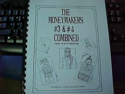 Money Makers 3&4 combined, 106 assorted patterns- Great