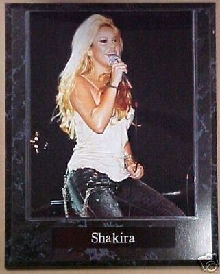 Shakira Sexy The Voice Star & Singer 10.5x13 Custom Music Concert Plaque
