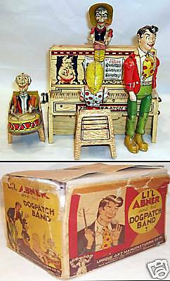 L'IL ABNER and his DOGPATCH BAND © 1945 Unique   w/ BOX