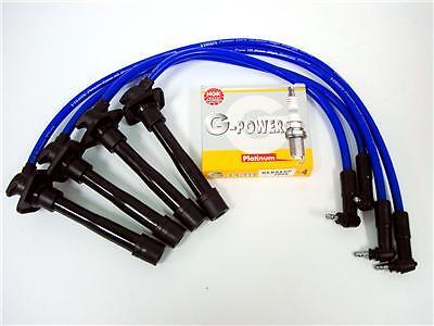 Ngk Platinum Spark Plugs Wires 93-97 Toyota Corolla Wt5