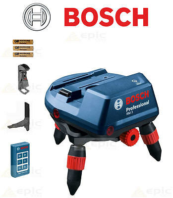BOSCH RM3 Motorised Remote Controlled Tripod Mount For Cross Line Laser Level
