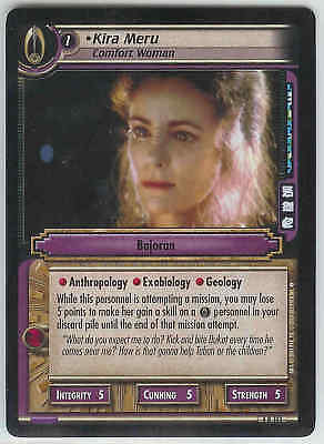 Star Trek CCG 2E Necessary Evil Knowledge And Experience 4R89