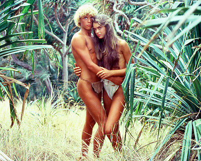 Brooke Shields Atkins The Blue Lagoon Color 11X14 Photo