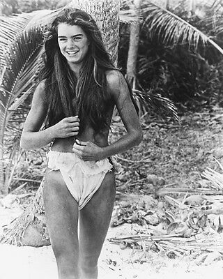 Brooke Shields 11X14 Photo Scantily Clad Blue Lagoon