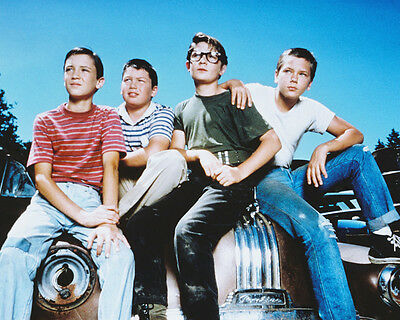 Stand By Me River Phoenix & Cast On Car Col 11X14 Photo
