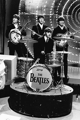 The Beatles Classic On Stage Pose 24X36 Poster Print