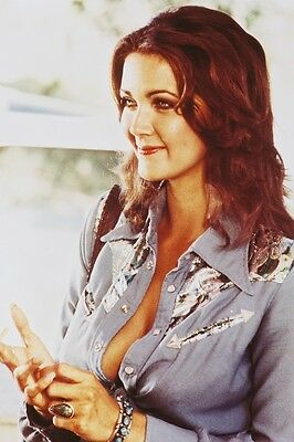 LYNDA CARTER IN DENIM JACKET SEXY COLOR 24X36 POSTER