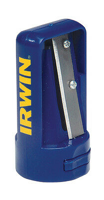 IRWIN Quality Carpenters Marking Pencil Sharpener, With Touch Up File, STL233250
