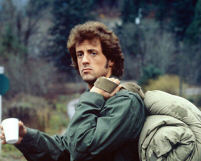 Sylvester Stallone Rambo First Blood Color 8X10 Photo