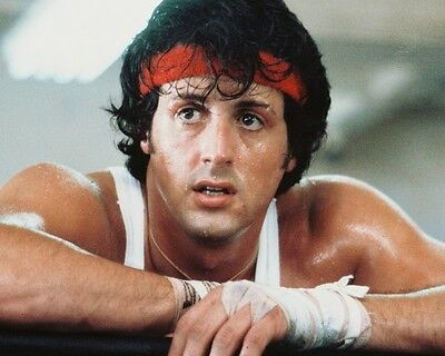 Sylvester Stallone Rocky Ii Hunky Color 8X10 Photo
