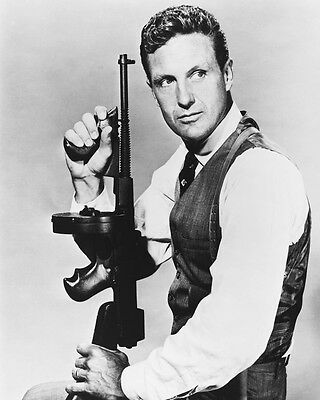 Robert Stack Rare The Untouchables 16X20 Poster