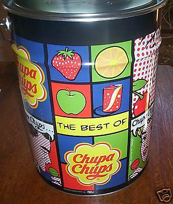 Chupa Chups Mega Tin 1000 pieces  Aust post anywhere in Australia
