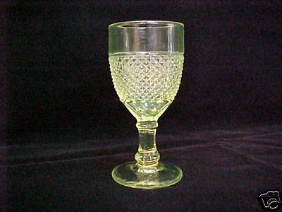 """EAPG Wine Central Glass Co. """"Scalloped Diamond Point"""""""