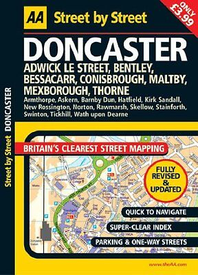 Doncaster_& Nearby___Aa__Street Map______Brand New