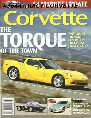 July 2005 Corvette Penske Racer Motorama Days The Lost Boys Generation Four