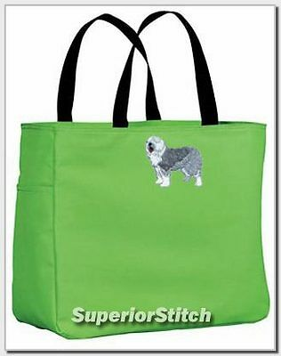 OLD ENGLISH SHEEPDOG essential tote bag ANY COLOR