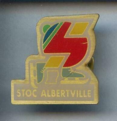 Rare Pins Pin's .. Olympique Albertville 92 / Stoc #4C