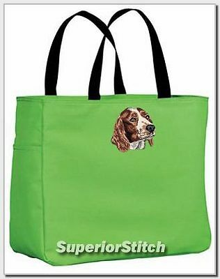 WELSH SPRINGER SPANIEL essential tote bag ANY COLOR