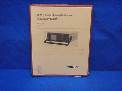 philips pm3217 pm3217u oscilloscope repair manual