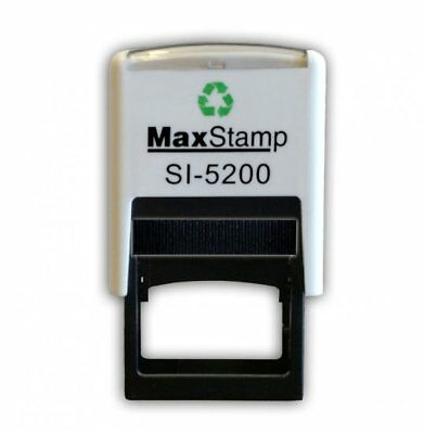 SELF INKING RUBBER BUSINESS STAMP 28mmx6mm MAX 5200