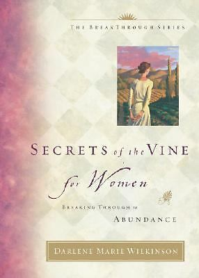 (New) Secrets of the Vine for Women by Darlene Wilkinson (HB)