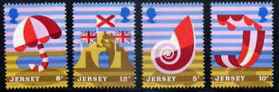 Jersey 1975 Posters - Tourism Mint Complete Set Of Four