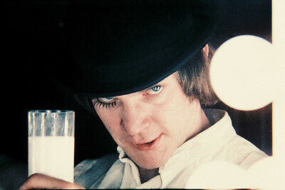 A Clockwork Orange Malcolm Mcdowell Close Up 24X36 Col