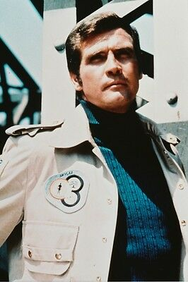 Lee Majors N.a.s.a. The Six Million Dollar Man Poster