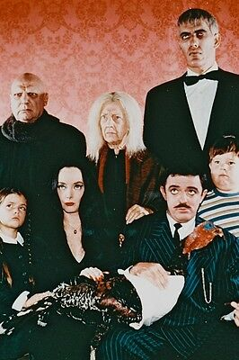 The Addams Family Tv Cast John Astin 24X36 Poster