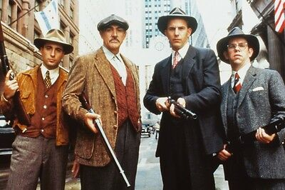 The Untouchables Sean Connery Kevin Costner Poster