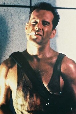 Bruce Willis Die Hard Hunky Color 24X36 Poster Print