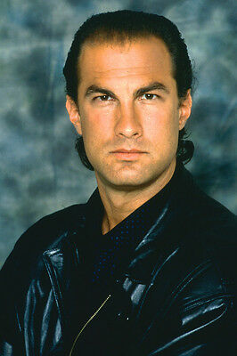 Steven Seagal Above The Law Color 24X36 Poster Print