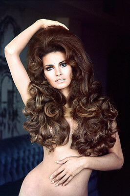 Raquel Welch Naked Stunning Sexy 36X24 Poster Print