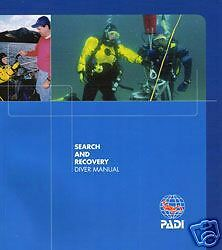 PADI Manual Search and Recovery Specialty Diving Course