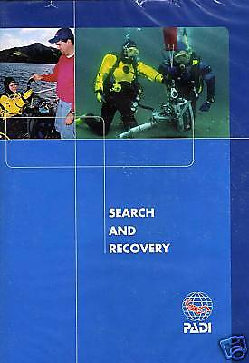DVD PADI Search and Recovery Specialty Diving Course