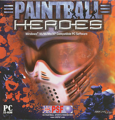 PAINTBALL HEROES Paint Ball War Shooter Sports for Windows PC Game WinXP NEW