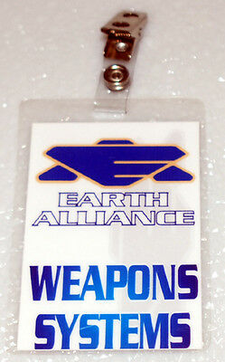 Babylon 5  ID Badge - Weapons Systems