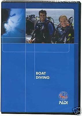 DVD BOAT Diver PADI Specialty Diving Course 70930