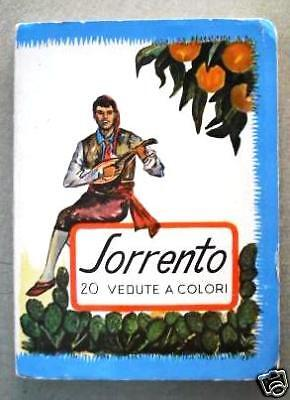 Sorrento 20 photos vedute  colored booklet.