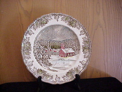 JOHNSON BROTHERS CHINA 1 DINNER PLATE FRIENDLY VILLAGE