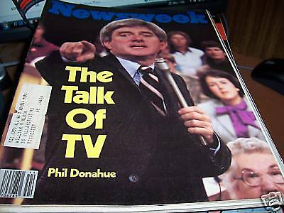 Newsweek 10/29/79 Phil Donahue The Talk of TV